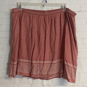 Old Navy Lined Elastic Waist Mini Skirt